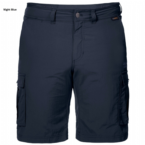 Jack Wolfskin Mens Canyon Cargo Shorts - UV Shield